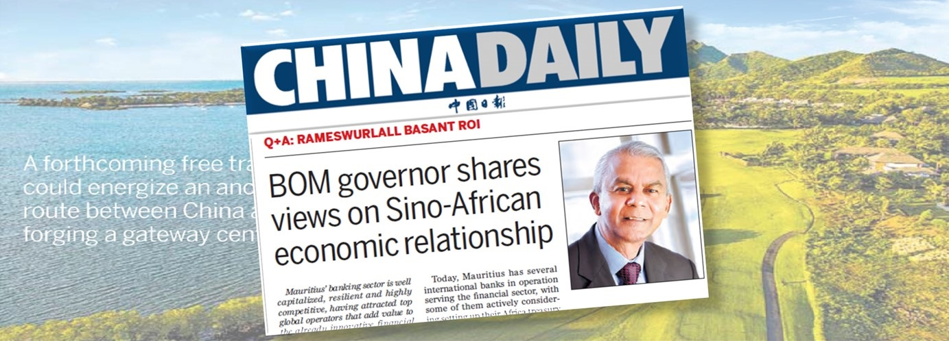 Interview of Governor Rameswurlall Basant Roi, G.C.S.K. – China Daily