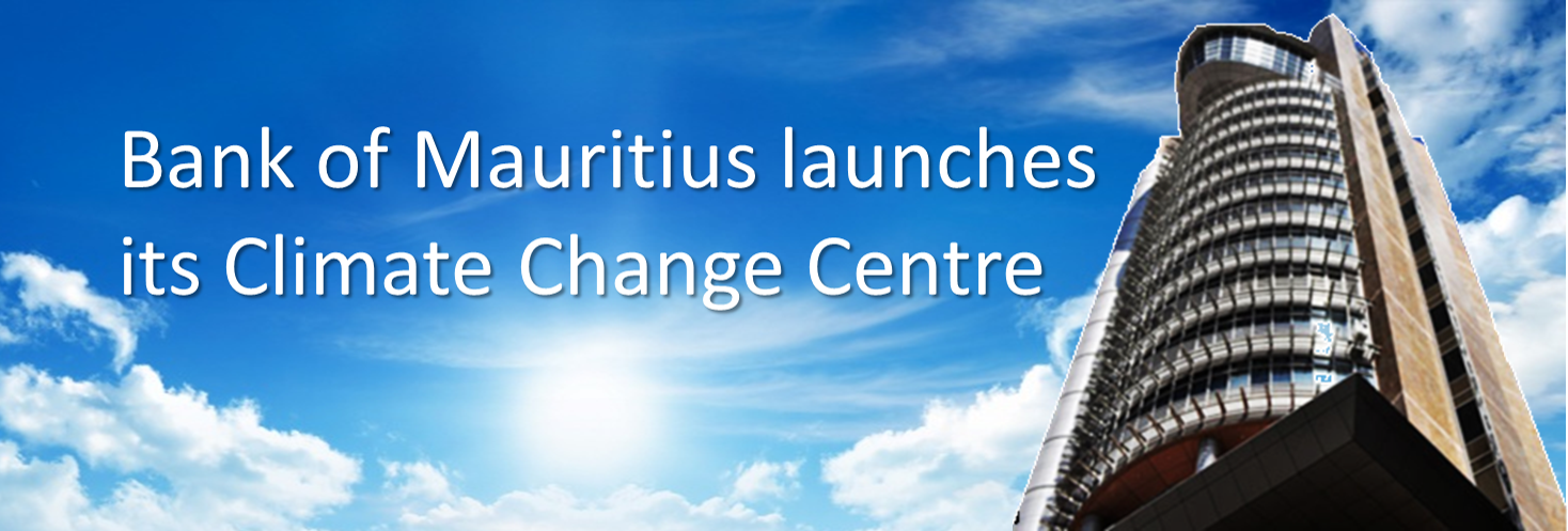 The Bank launches its Climate Change Centre