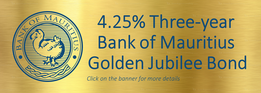 Bank of Mauritius Golden Jubilee Bond