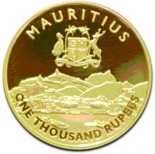 150th Anniversary of the Mauritius Chamber of Commerce & Industry Gold Coins